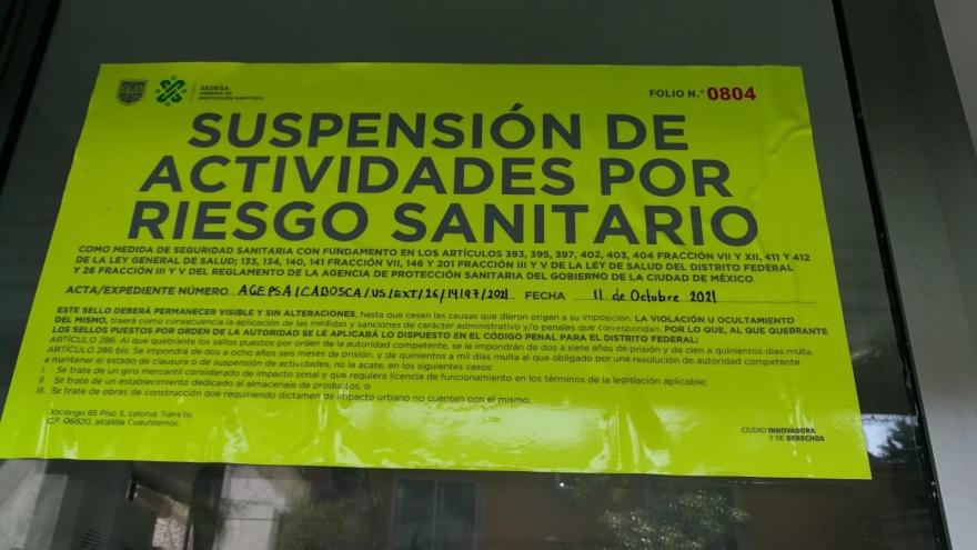 Suspensión de actividades en purificadora por contaminación en lavado